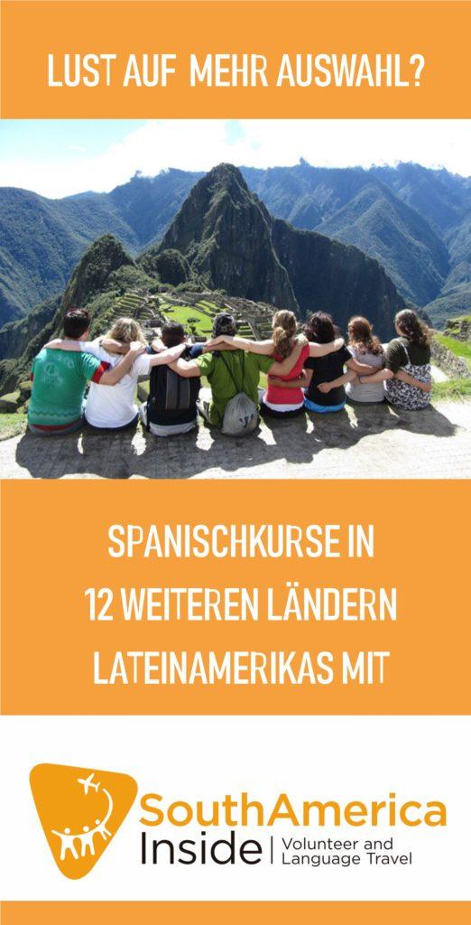 Anzeige Spanischkurse SAI